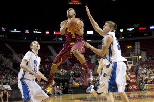 Deante Strickland played basketball for Central Catholic High School at the time of the incident