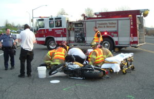 The crash which left Timmerman with severe injuries